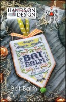 Scary Apothecary Series - BAT BALM - Cross Stitch Pattern by Hands On Design