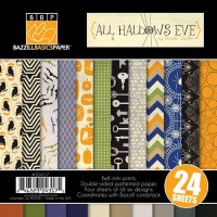 ALL HALLOWS EVE Paper Pack 6x6 from Bazzill Basics Paper
