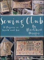 SEWING CLUB Counted Cross Stitch Book from Blackbird Designs