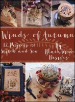 WINDS OF AUTUMN Counted Cross Stitch Book from Blackbird Designs