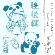 BEARY SWEET Clear Stamp Set from Tiddly Inks