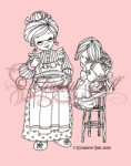 BAKING WITH NANA Clear Stamp Elisabeth Bell Designs from Belles 'N Whistles