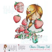 WRYN BERRY SWEET Clear Stamp Set from Tiddly Inks