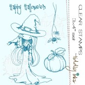 BEWITCHING Clear Stamp Set from Tiddly Inks