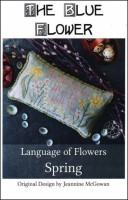 Language of Flowers SPRING Counted Cross Stitch Pattern from The Blue Flower