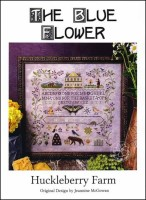HUCKLEBERRY FARM Counted Cross Stitch Pattern from The Blue Flower