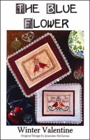 WINTER VALENTINE Counted Cross Stitch Pattern from The Blue Flower