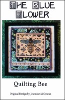 QUILTING BEE Counted Cross Stitch Pattern from The Blue Flower
