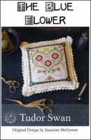 TUDOR SWAN Counted Cross Stitch Pattern from The Blue Flower