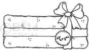 GIFT Rubber Stamp from Bildmalarna