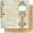 UNWRITTEN 12x12 Scrapbook Paper Gabrielle Collection from Bo Bunny