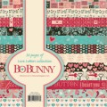 LOVE LETTERS 6x6 Scrapbook Patterned Paper Pack from Bo Bunny