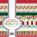 MISTLETOE 6X6 Scrapbook Patterned Paper Pack from Bo Bunny