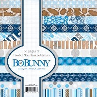 POWDER MOUNTAIN 6x6 Scrapbook Patterned Paper Pack from Bo Bunny