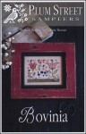 BOVINA Cross Stitch Pattern by Plum Street Samplers