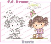 BREEZE Rubber Stamp from Pollycraft