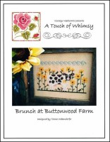 BRUNCH AT BUTTONWOOD FARM Cross Stitch Pattern by Vintage NeedleArts