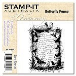 BUTTERFLY FRAME Stamp It Australia Discovery Collection from Crafter's Companion