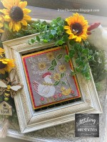 BUZZ OF THE BEES Cross Stitch Chart from Stitching With The Housewives