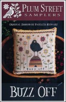 BUZZ OFF Cross Stitch Pattern from Plum Street Samplers