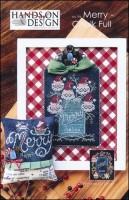 Chalk Full Series - MERRY CHALK FULL Cross Stitch Pattern from Hands On Design
