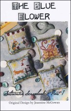 SALTWATER SCRAPBOOK PART 1 Counted Cross Stitch Pattern from The Blue Flower