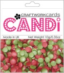 Candi Dots Embellishments HOLLY BERRIES from Craftwork Cards