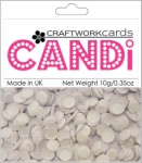 Candi Dots Embellishments ICING SUGAR from Craftwork Cards