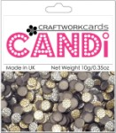 Candi Dots Embellishments METALLIQUE BRONZE from Craftwork Cards