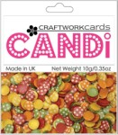 Candi Dots Embellishments TOY BOX from Craftwork Cards