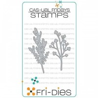 FRI-DIES CASUAL TREES DIE SET from Cas-ual Fridays Stamps