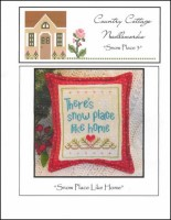 Snow Place Like Home Series - SNOW PLACE 3 - Cross Stitch Chart from Country Cottage Needleworks
