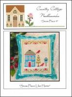 Snow Place Like Home Series - SNOW PLACE 4 - Cross Stitch Chart from Country Cottage Needleworks