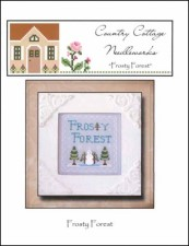 Frosty Forest Series FROSTY FOREST Cross Stitch Pattern from Country Cottage Needleworks