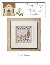 Frosty Forest Series SNOWY DEER Cross Stitch Pattern from Country Cottage Needleworks