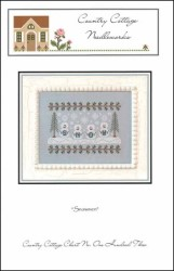 SNOWMEN Cross Stitch Pattern from Country Cottage Needleworks
