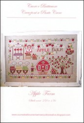 APPLE FARM Cross Stitch Pattern from Cuore e Batticuore