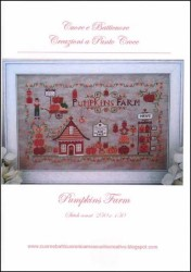 PUMPKINS FARM Cross Stitch Pattern from Cuore e Batticuore