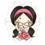 CHEEKY GEEKY Rubber Stamp Cheeky Cherry Collection from The Greeting Farm