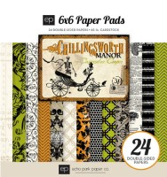 CHILLINGSWORTH MANOR Paper Pack 6x6 by Cassandra Cooper from Echo Park Paper Co.