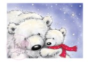 POLAR BEARS Clear Stamp Traditional Christmas Collection from Wild Rose Studio