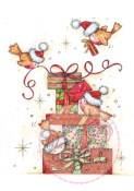 ROBINS ON PRESENTS Clear Stamp Set Annabelle and Antoine Collection from Wild Rose Studio