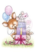 MOUSE ON PRESENTS Clear Stamp Bluebell Collection from Wild Rose Studio