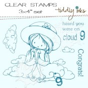 CLOUD 9 Clear Stamp Set from Tiddly Inks