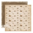 COFFEE Picnic Collection 12 x 12 Patterned Paper from Bildmalarna