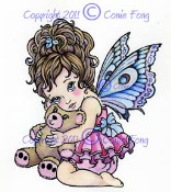 PRECIOUS Rubber Stamp Conie Fong Collection from Sweet Pea Stamps