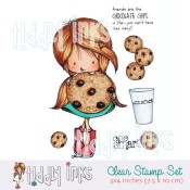 WRYN SMART COOKIE Clear Stamp Set from Tiddly Inks