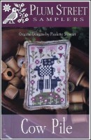 COW PILE Cross Stitch Pattern from Plum Street Samplers