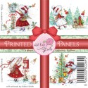 ANNABELLE'S CHRISTMAS PANELS Pre-Colored Images from Wild Rose Studio