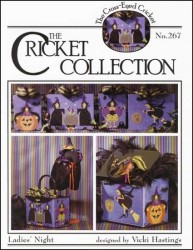 LADIES' NIGHT The Cricket Collection Cross Stitch Leaflet from The Cross-Eyed Cricket